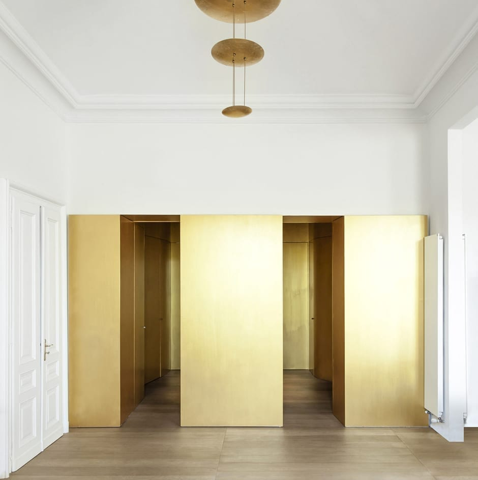 Gold interior design in torino italy by with interior designer torino - Interior design torino ...