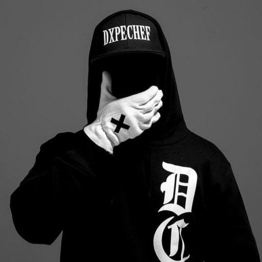 gothic typography fashion design dope chef